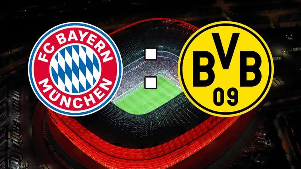 Bei eis an der BUVETTE : Fc Bayern München vs Dortmund!