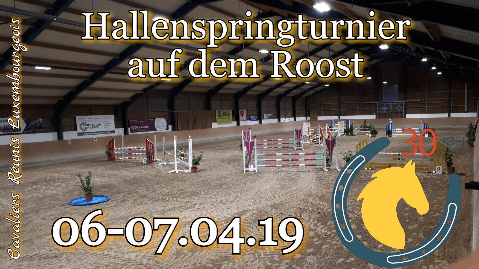 Zeiteinteilung Springturnier Roost 06-07.04.2019