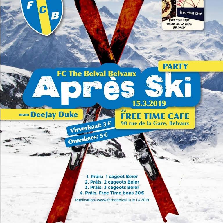 Tirage Tombola Après-Ski Party 2019