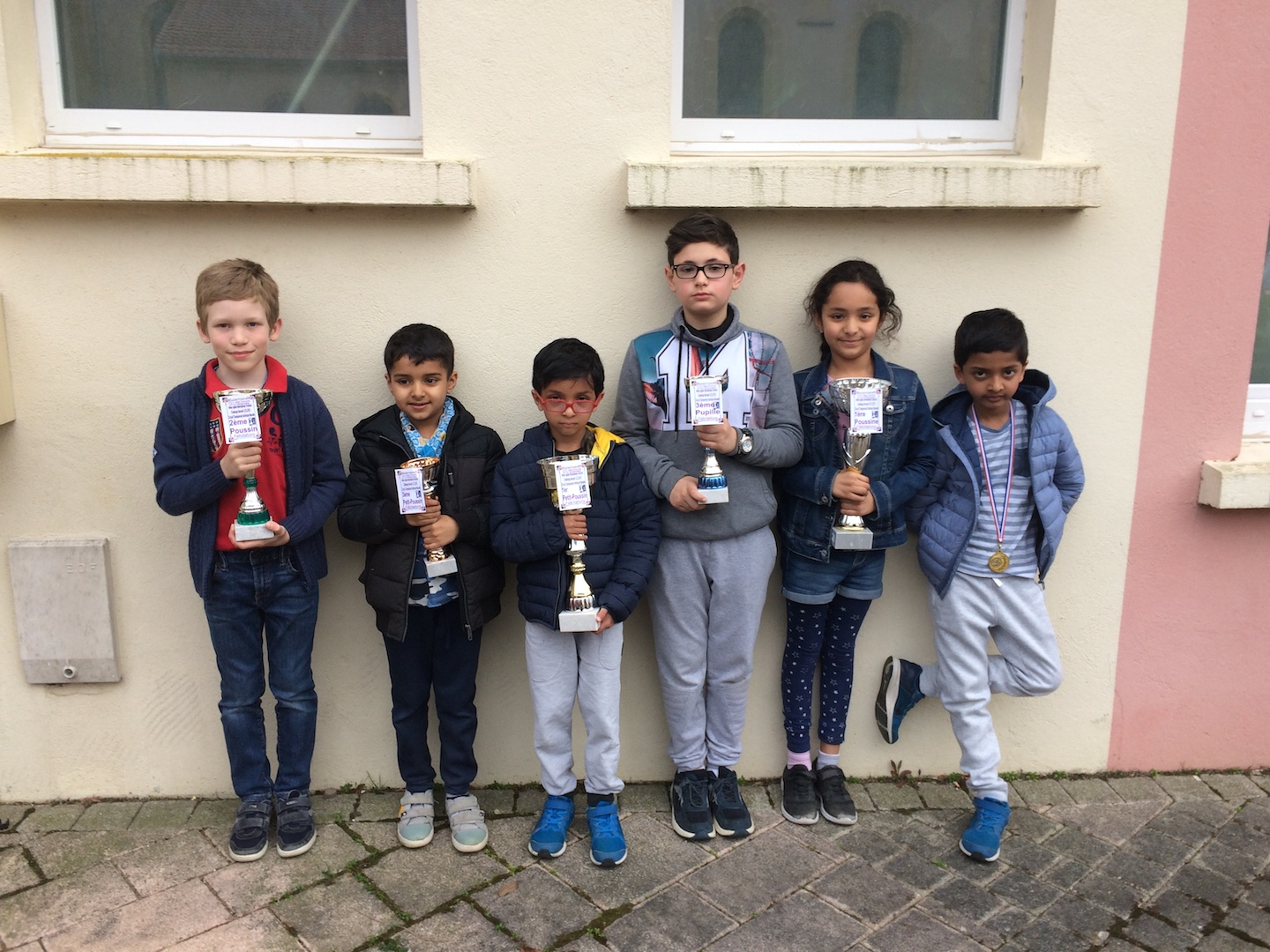 Results of the tournament in Tressange - 7th April