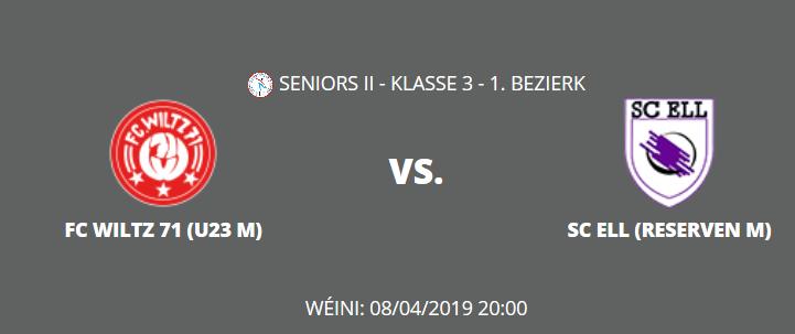 FC WOOLTZ U23 vs. ELL