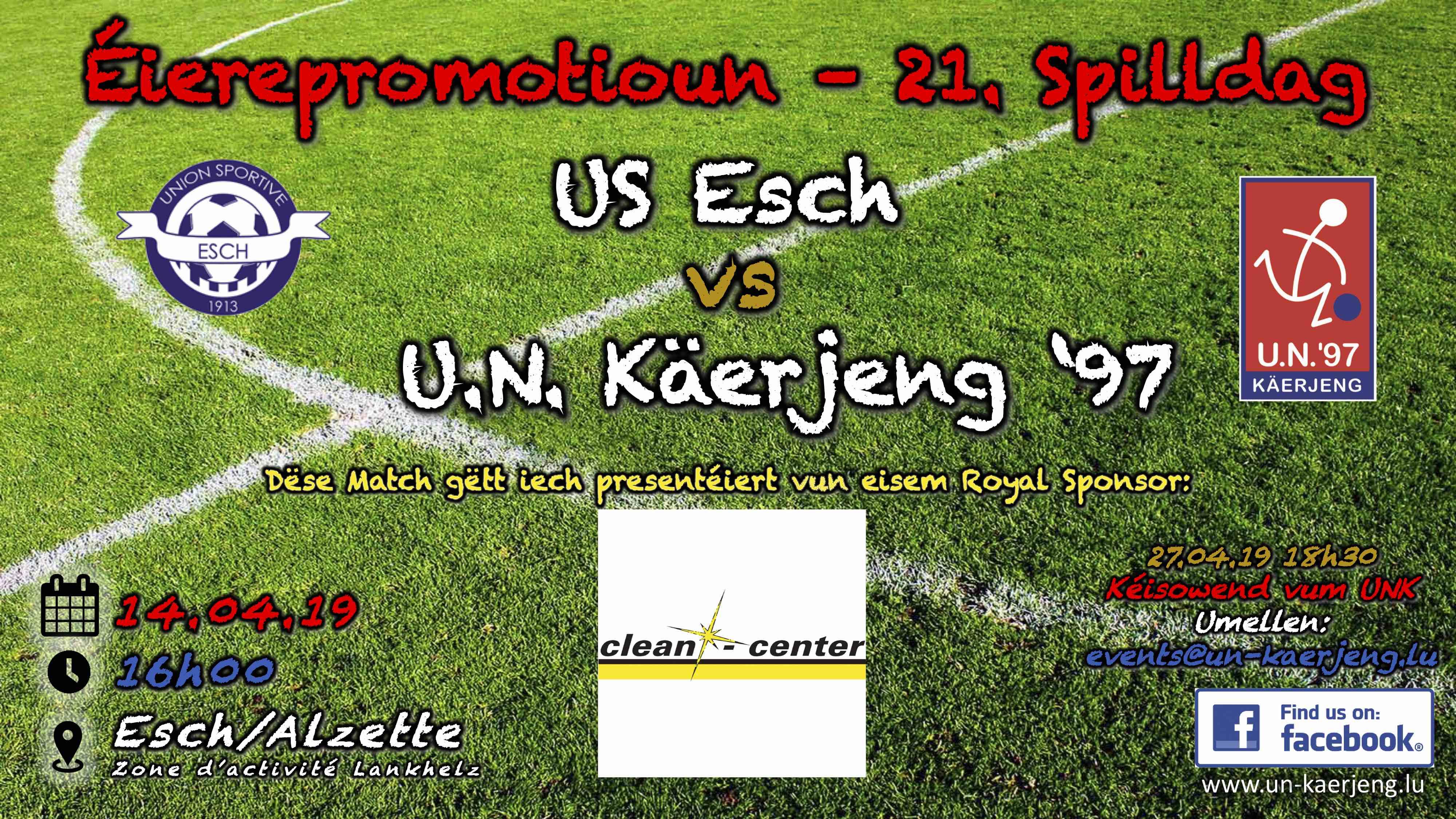 *** US Esch - UNK ***