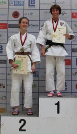 Jessica Lindner vom AtV Dudweiler gewinnt das Bundesranglistenturnier in Bottrop