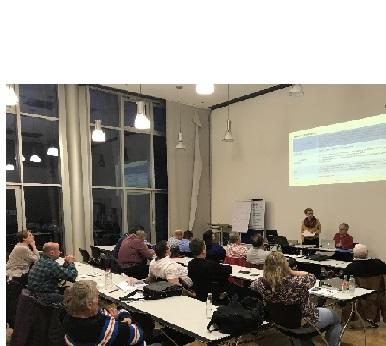 Harmonische Informations- und Diskussionsrunde beim SJB