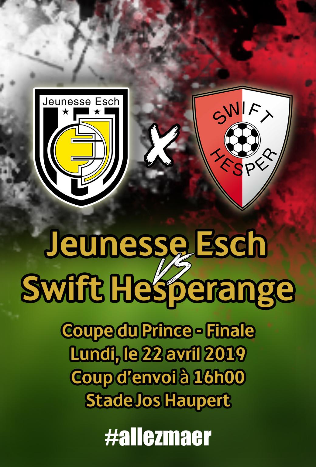 Final vun der Coupe du Prince