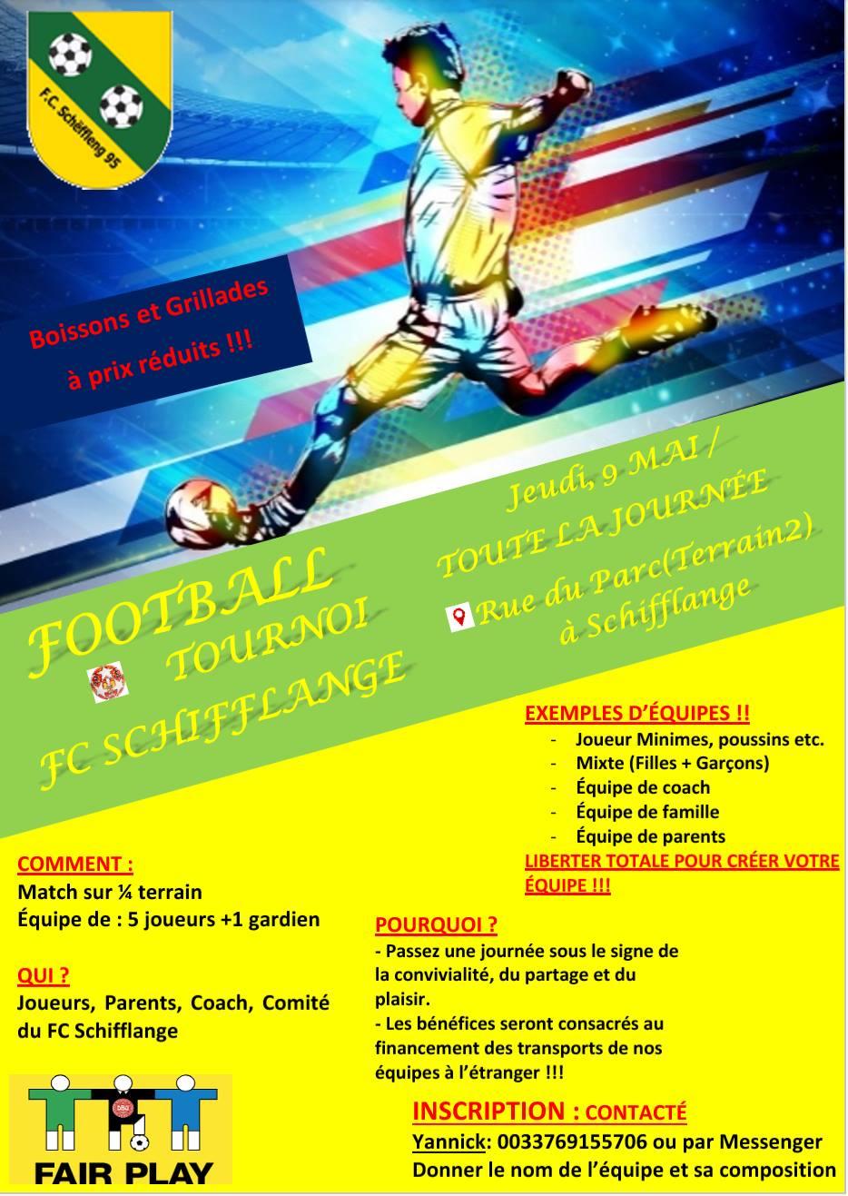 fête familiale FC Schëffleng 9 mai 2019