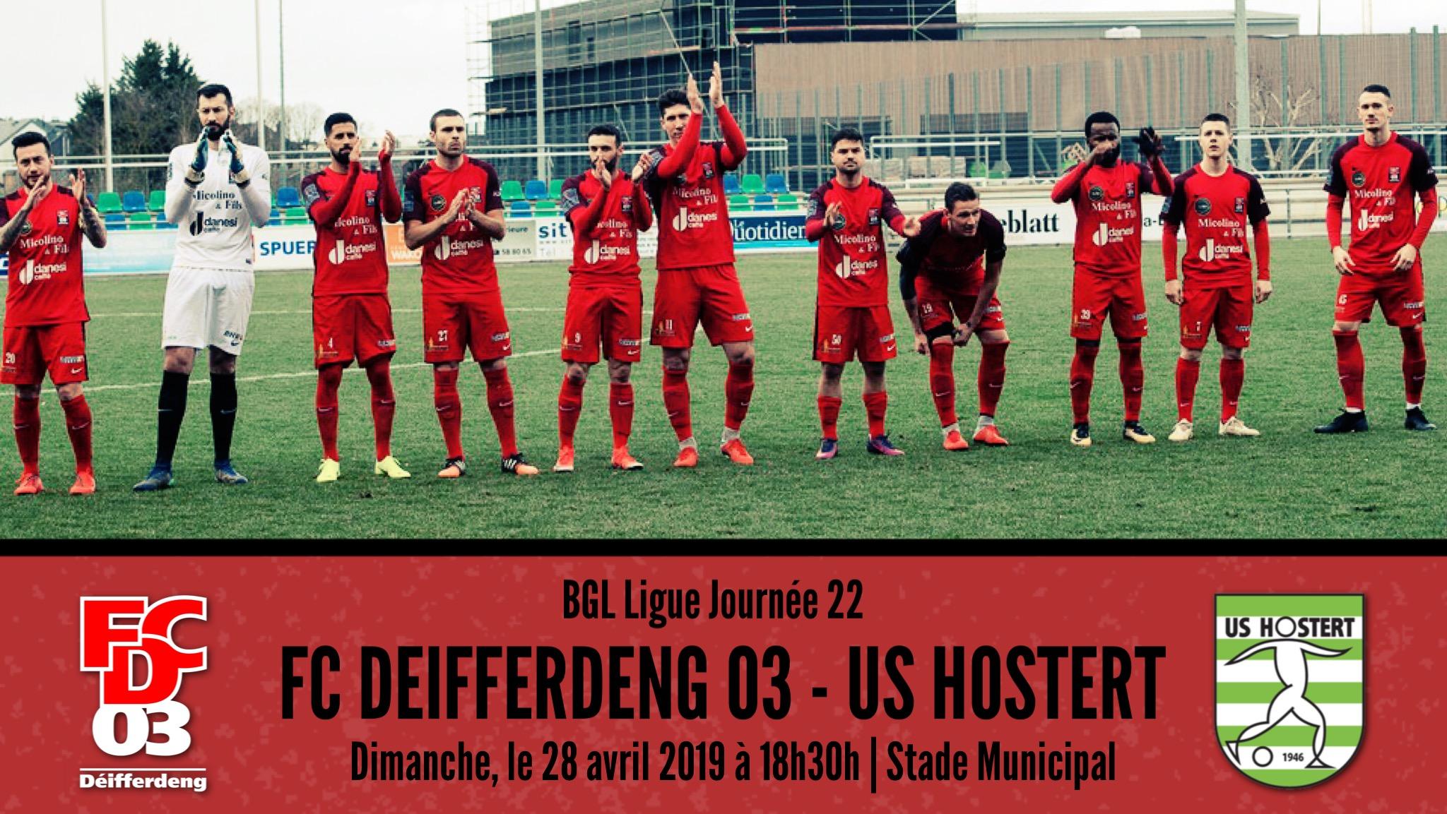 FC DEIFFERDENG 03 - US HOSTERT