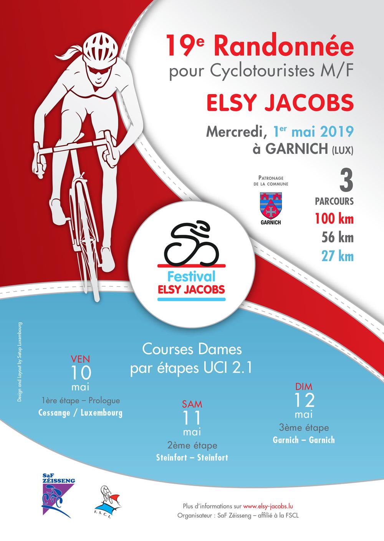 19e Randonnée Elsy Jacobs Garnich 1 mai 2019