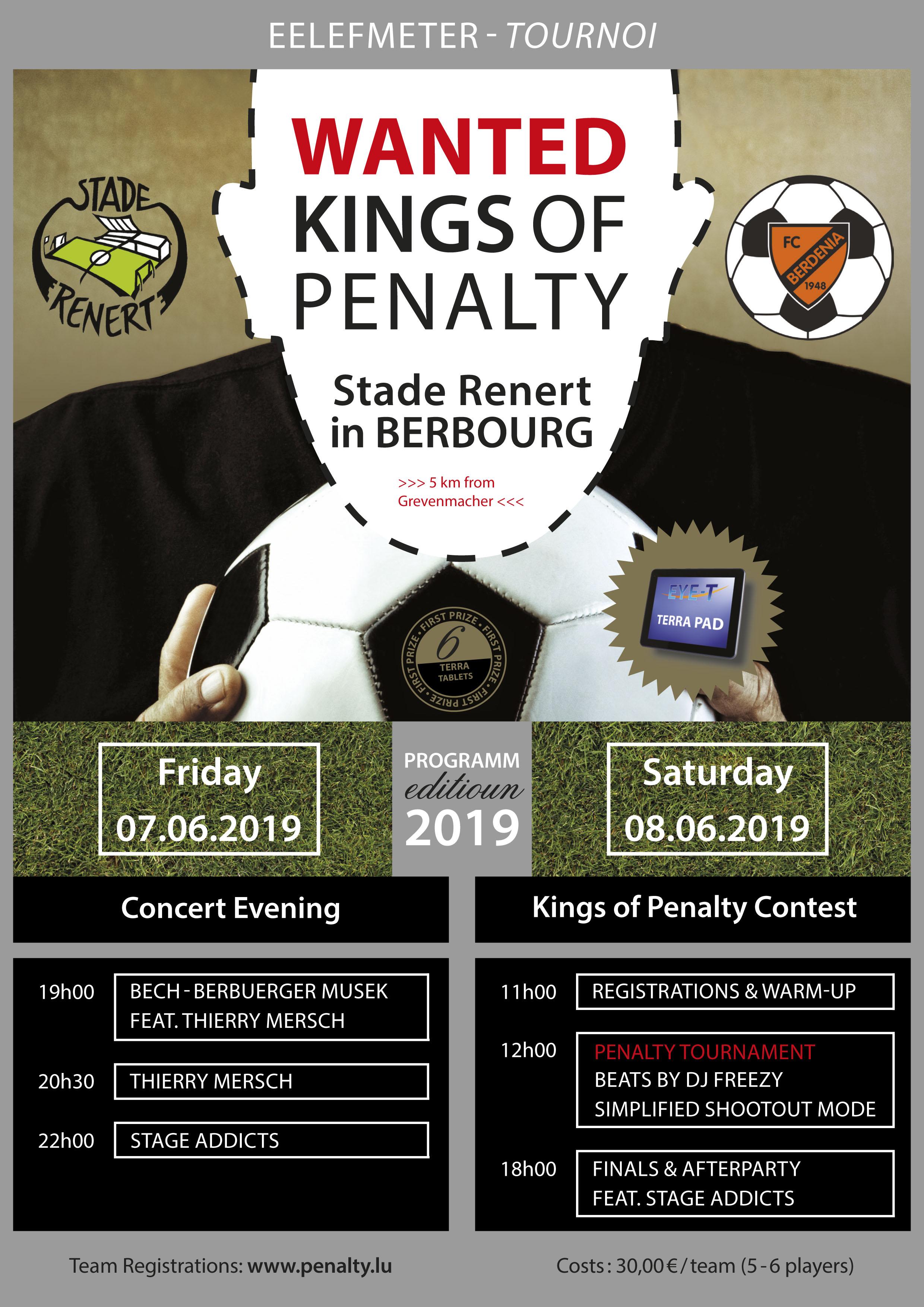 Kings of Penalty 2019 - REGISTER NOW