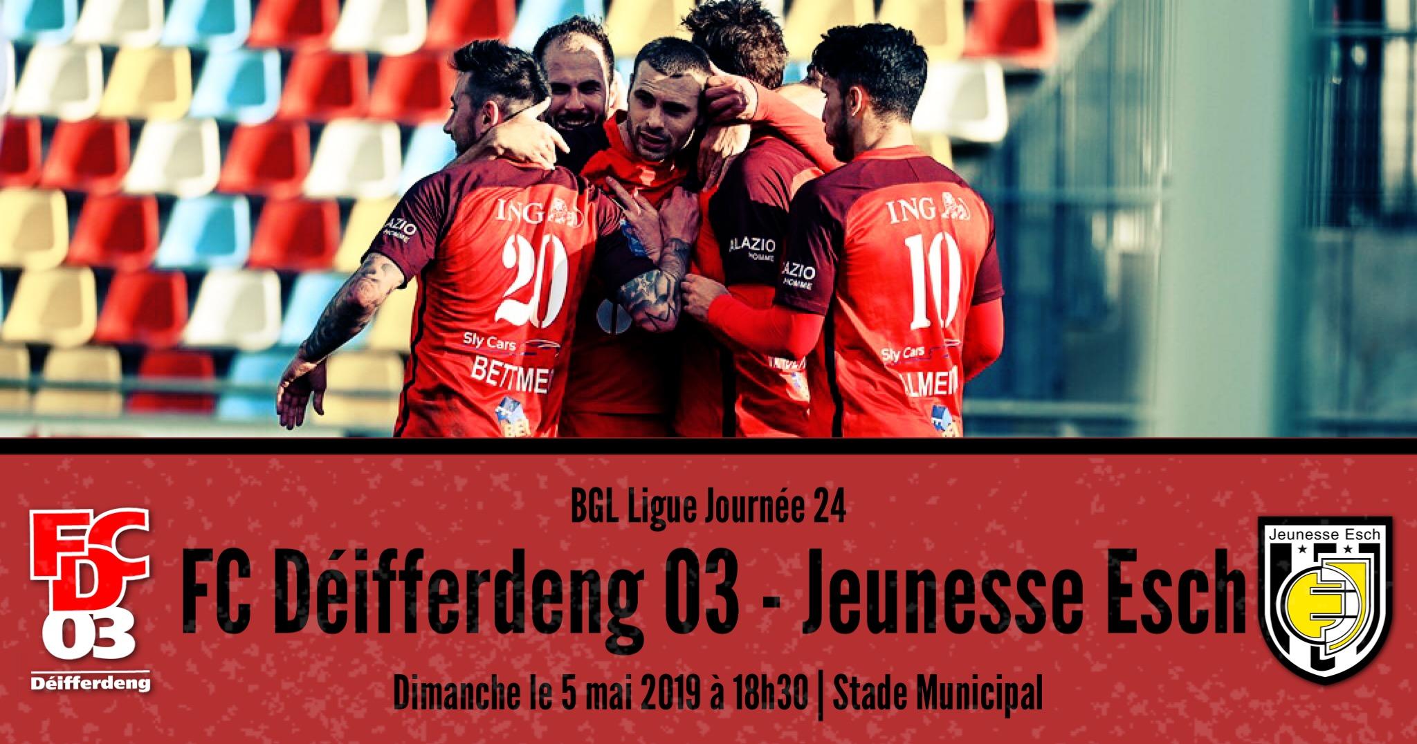 FC DEIFFERDENG 03 - JEUNESSE ESCH