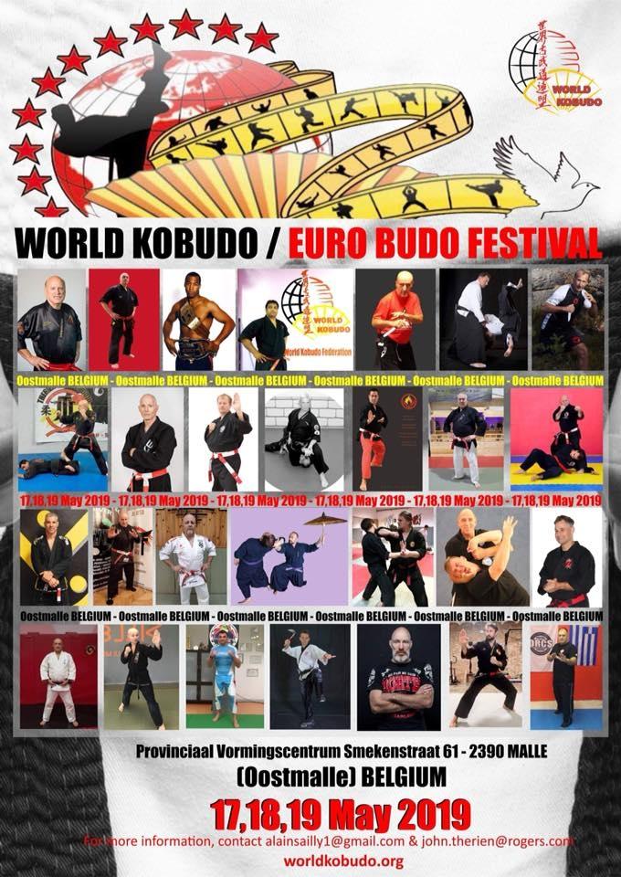 Stage World Kobudo le 17, 18 et 19 mai 2019