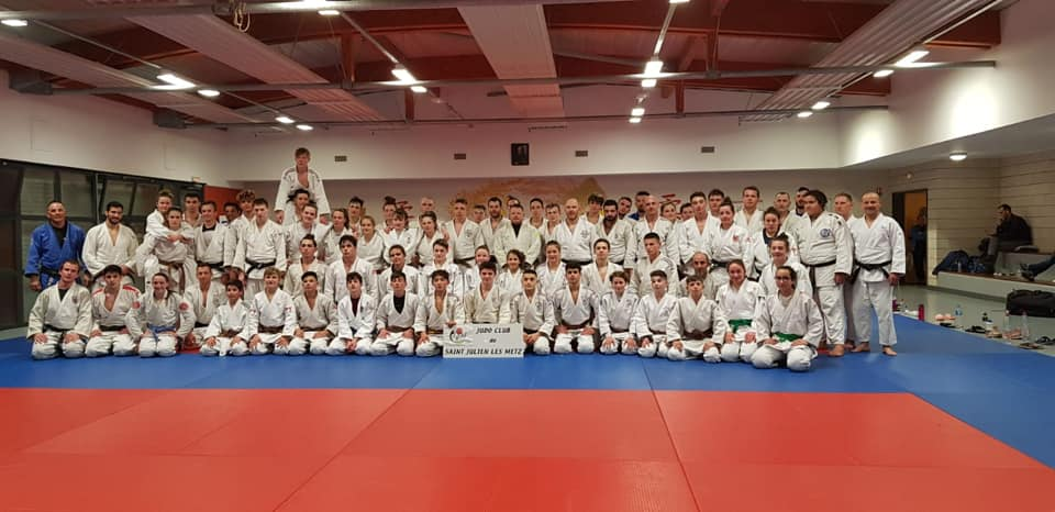 Interreg Judo Training - Saint Julien-lès-Metz 04.04.2019