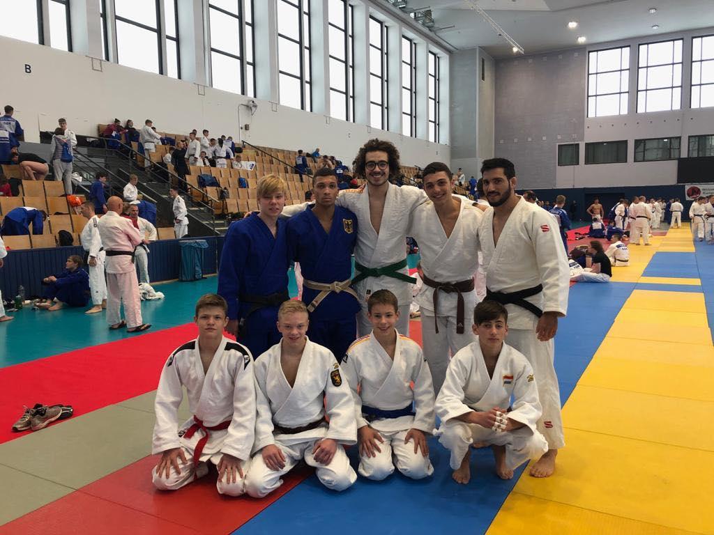 INTERREG JUDO TEAM - U18 EJC & EJU Training Camp Berlin 2019
