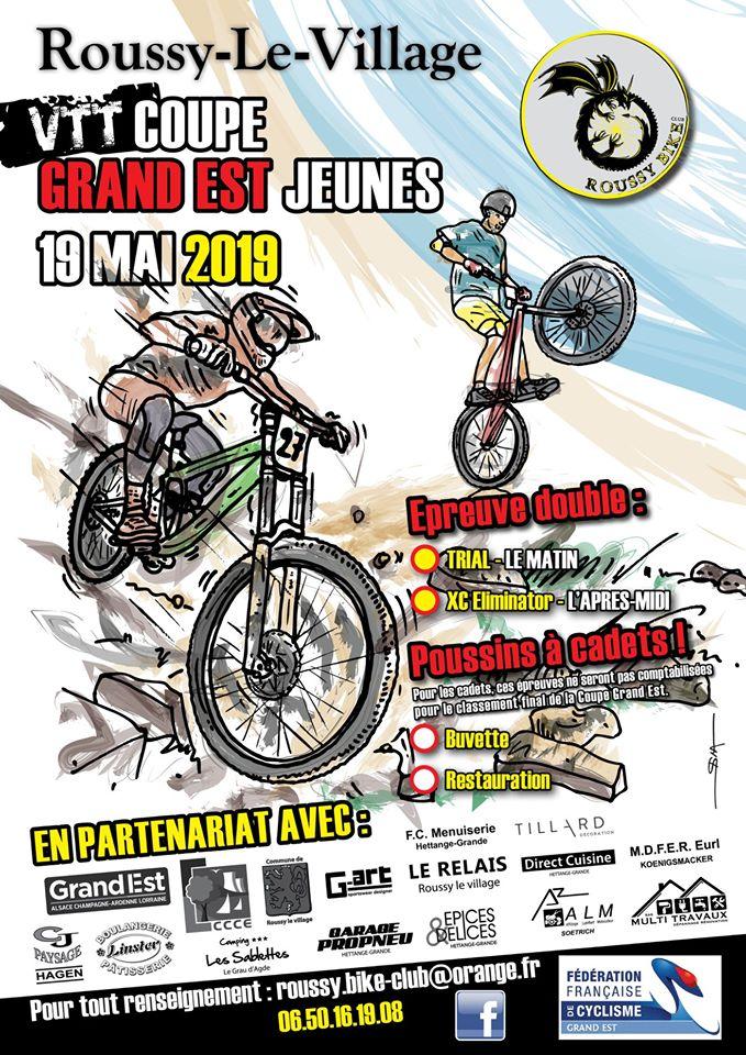 VTT Coupe à Roussy-Le-Village le 19 mai 2019
