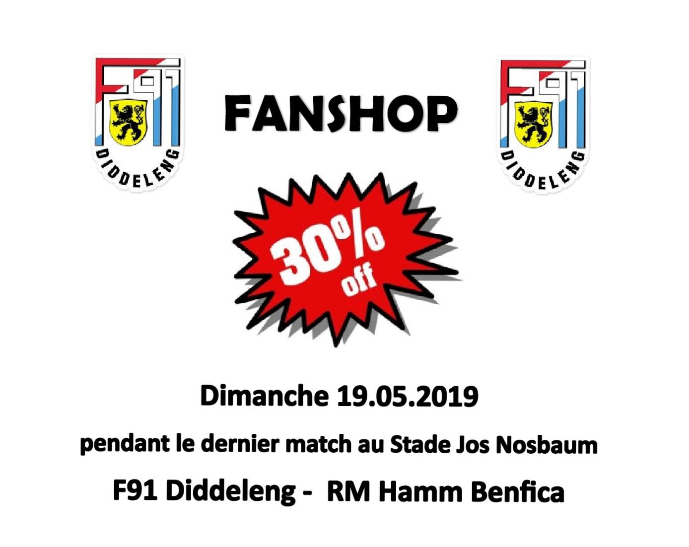 FANSHOP - SALES 30%