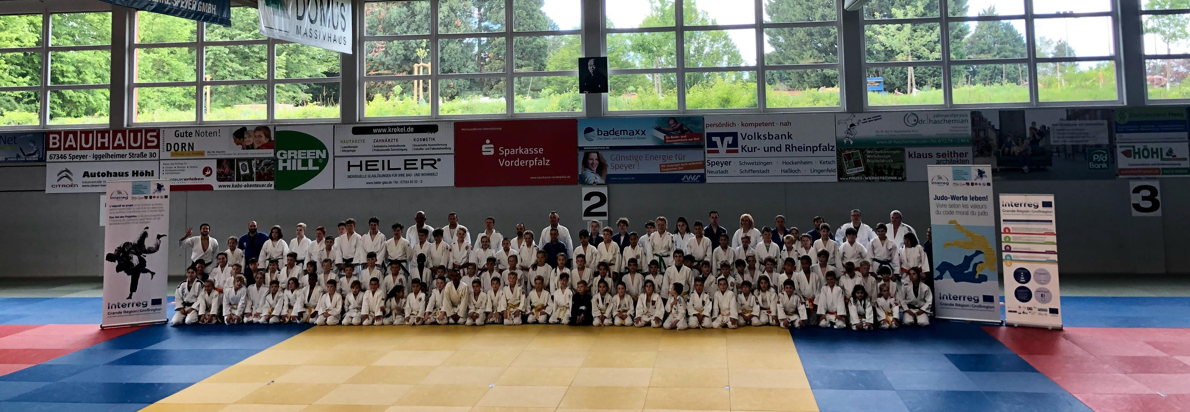 Interreg Judo Training & Competition - Speyer 11.05.2019
