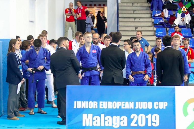 Interreg Judo Team - U21 European Judo Cup Malaga 18-19.05.2019