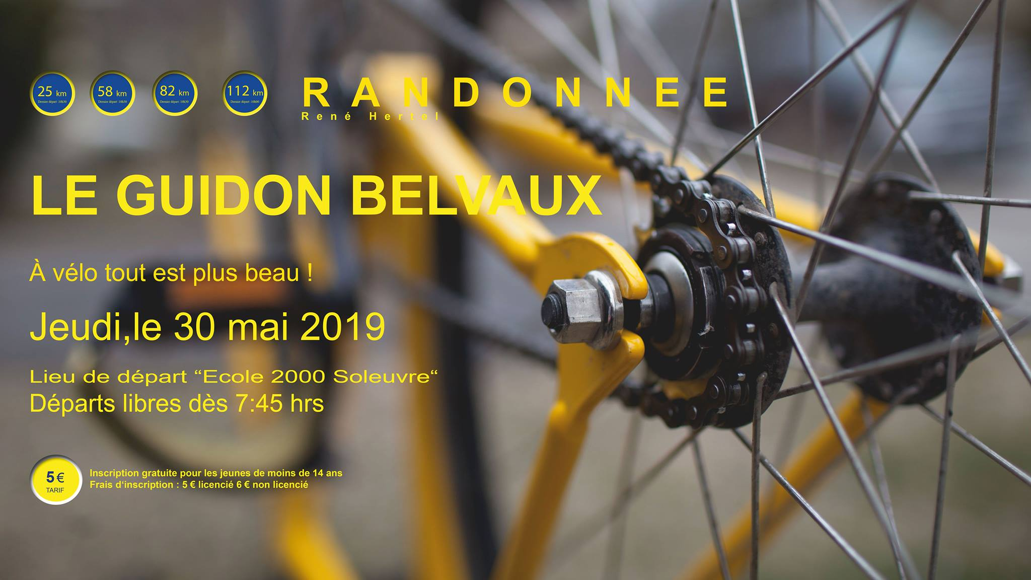 Randonnée René Hertel Jeudi le 30 mai 2019