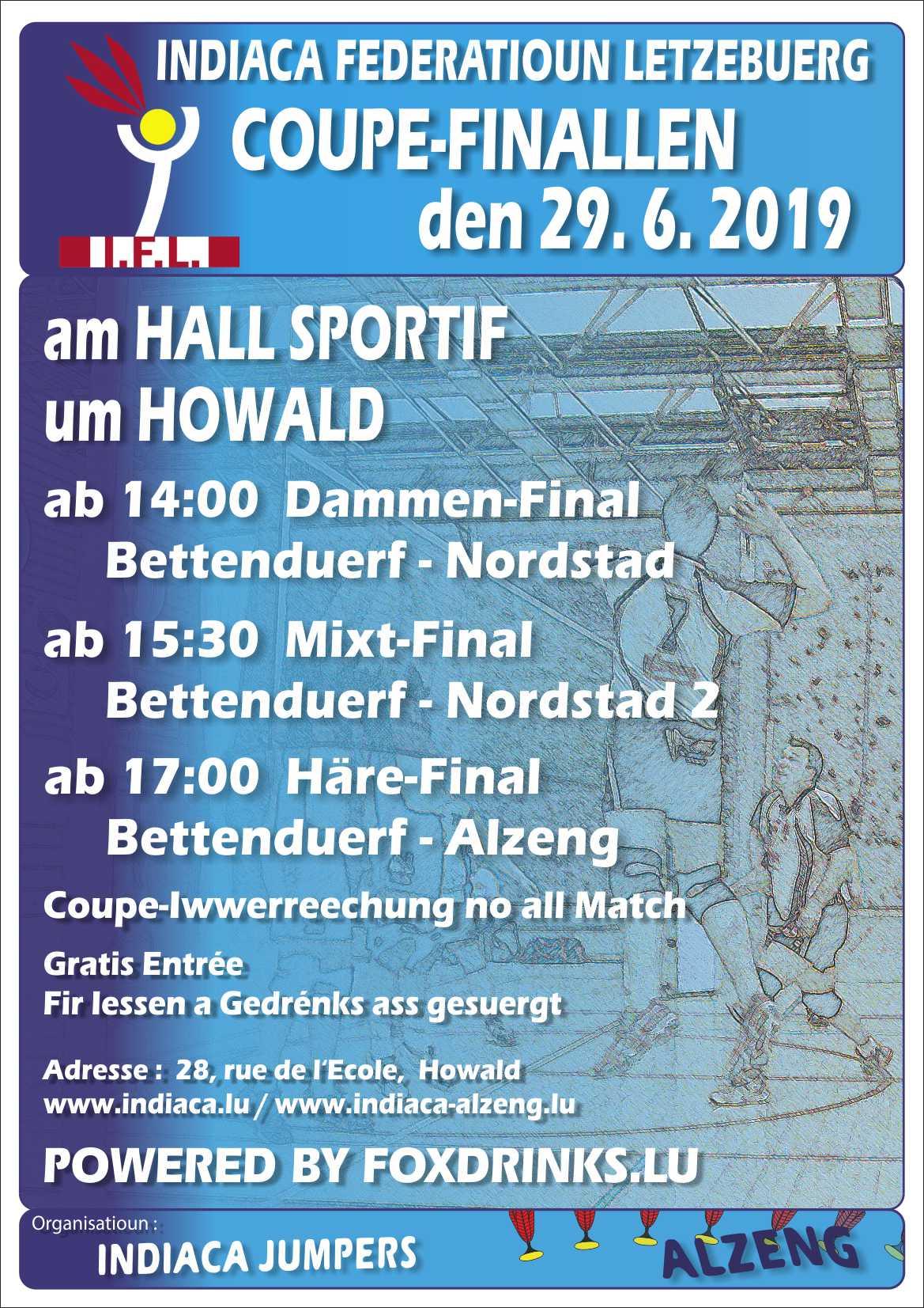 Coupefinalle um Houwald