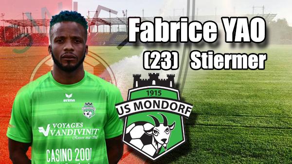 Transfer: Fabrice YAO