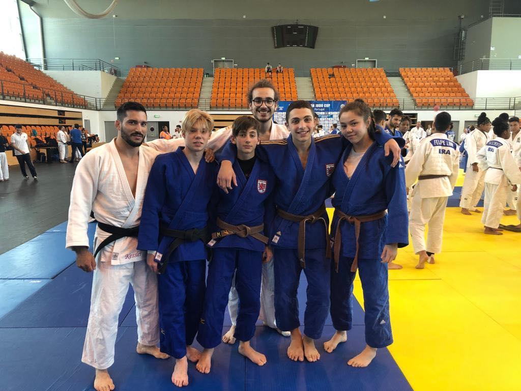 Interreg Judo Team - U18 European Judo Cup & EJU TC Coimbra (POR)