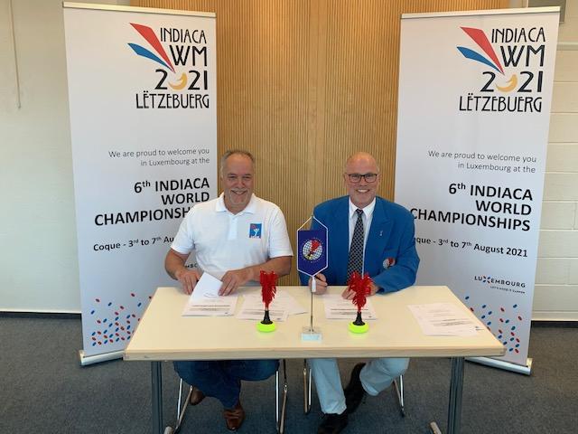 Organisatiounsvertrag WM 2021 ënnerschriwwen