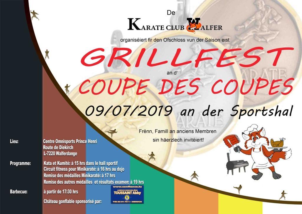 Grillfest a Coupe des coupes - Barbecue et Coupe des coupes