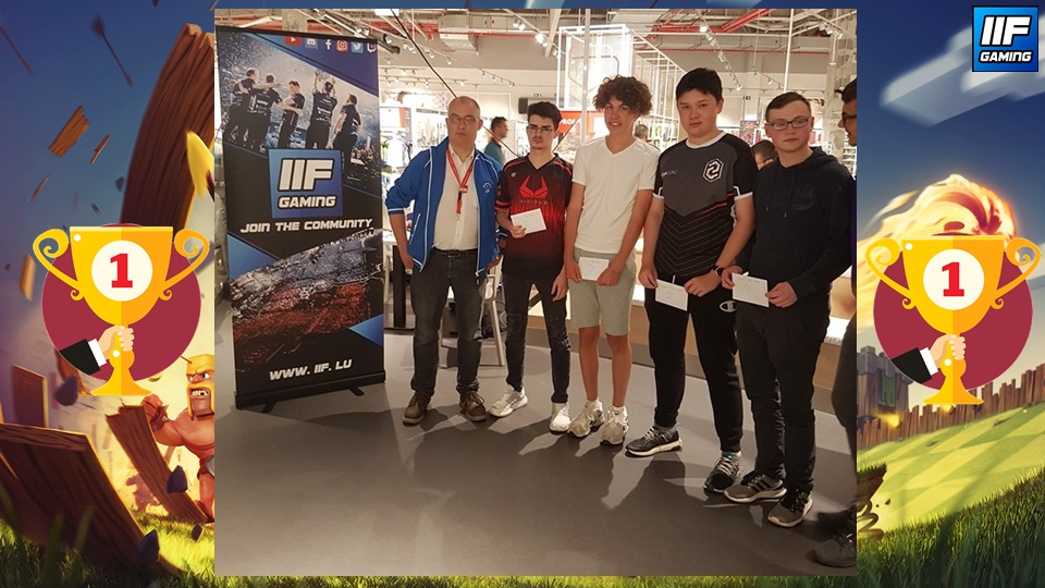 Auchan ESport Arena - Clash Royal Winners