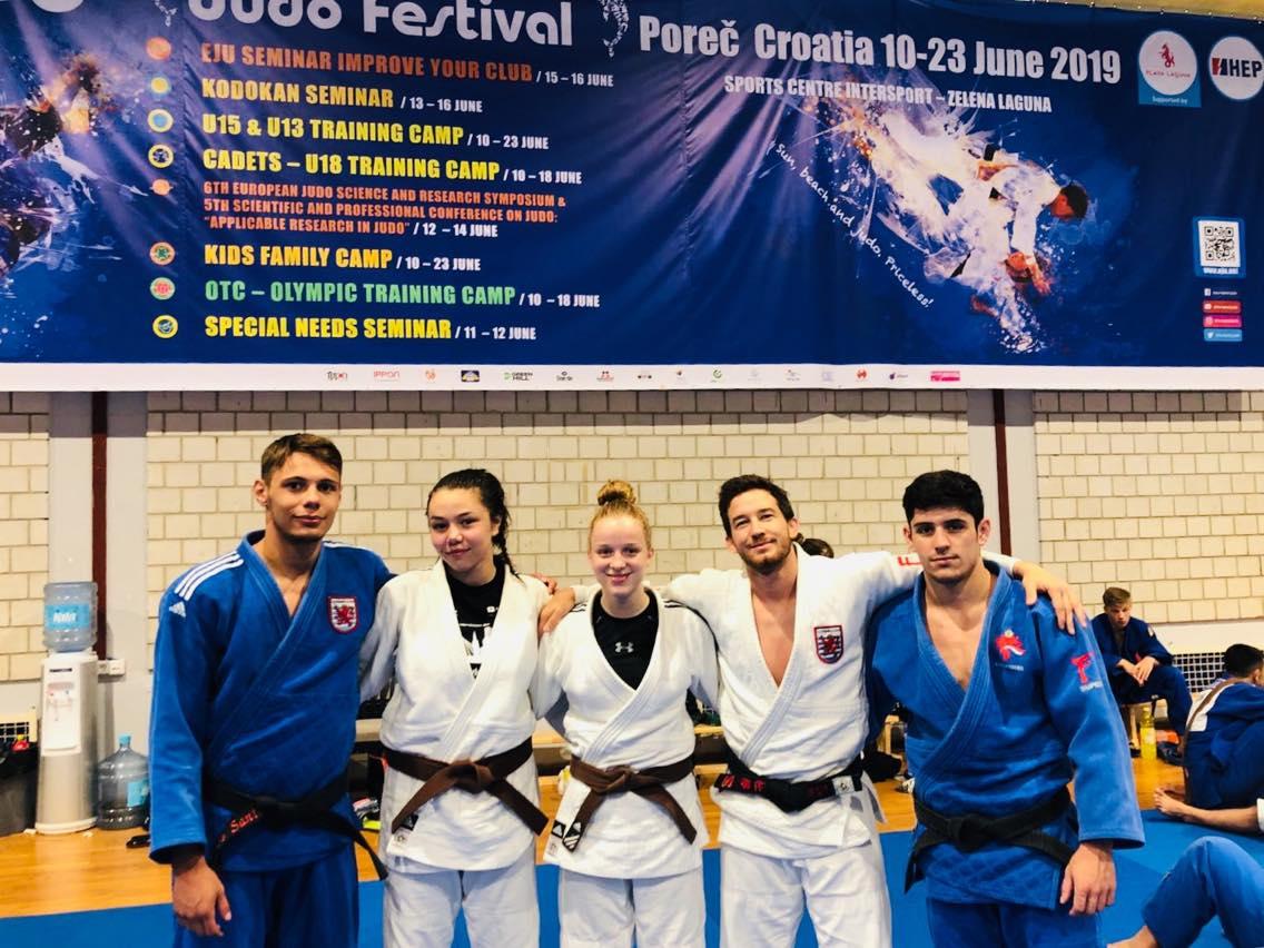 Interreg Judo Team - OTC & U18 EJU TC Porec (CRO) - 10-14.06.2019