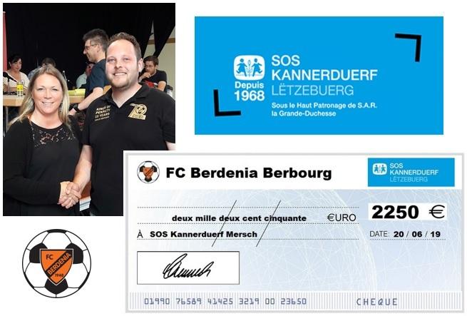 2.250 Euro fir d'SOS Kannerduerf