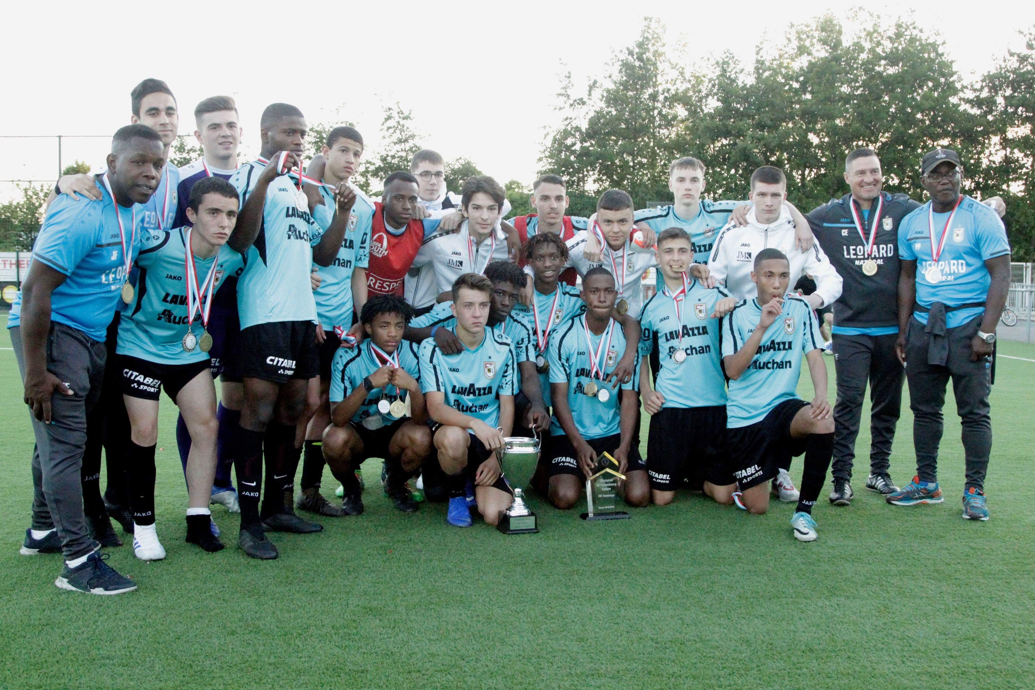 Cadets - Champion de Luxembourg + Finaliste de la Coupe 2018/2019