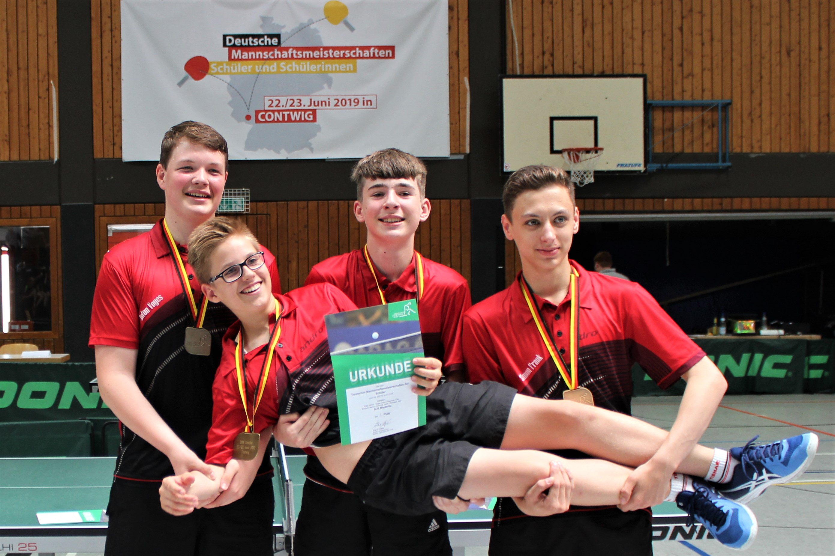 DJK Jungen 15 mit sensationellem Dritten Platz bei den Deutschen Mannschaftsmeisterschaften