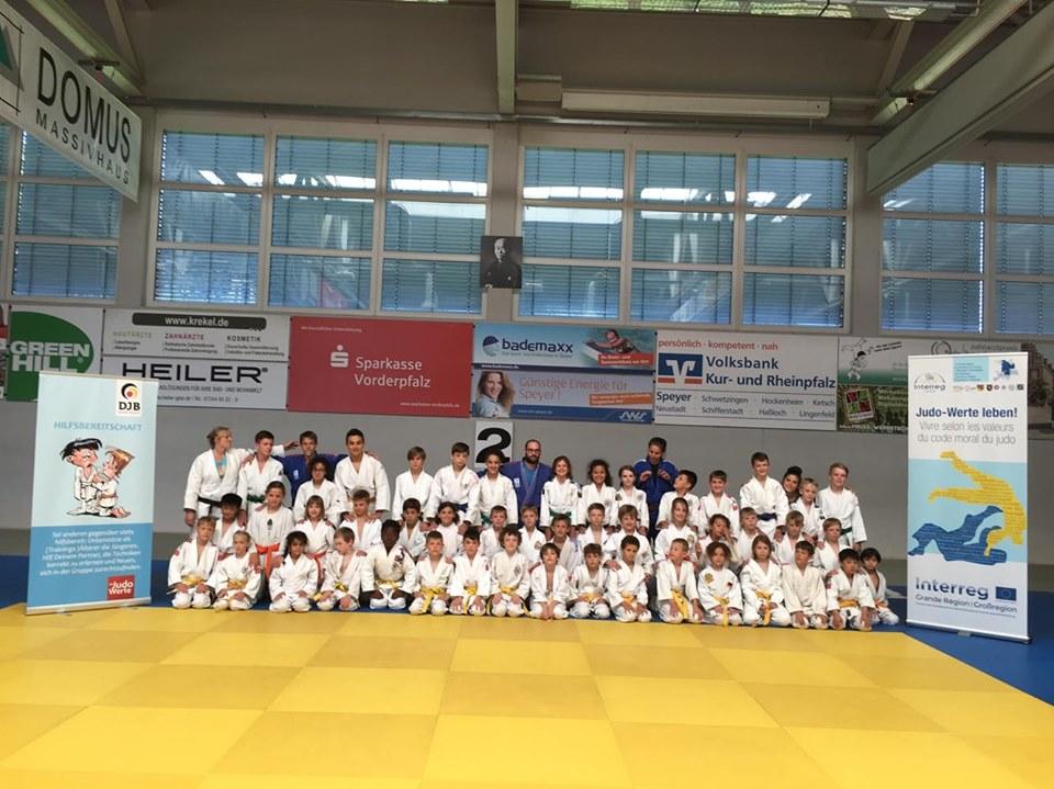 Strassener Judoka bereiteten sich in Speyer auf Mannschaftsmeisterschaft vor