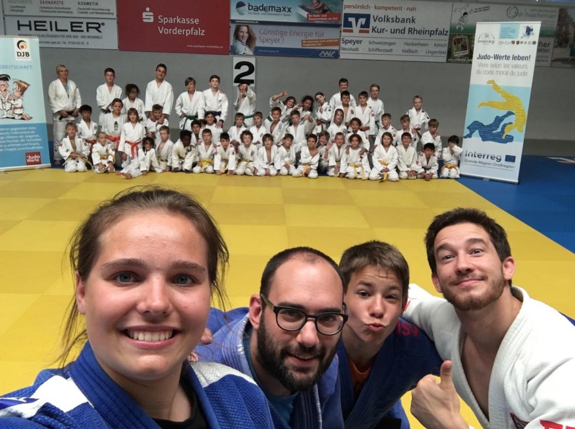 Interreg Judo Training & Competition Speyer - 28-30.06.2019
