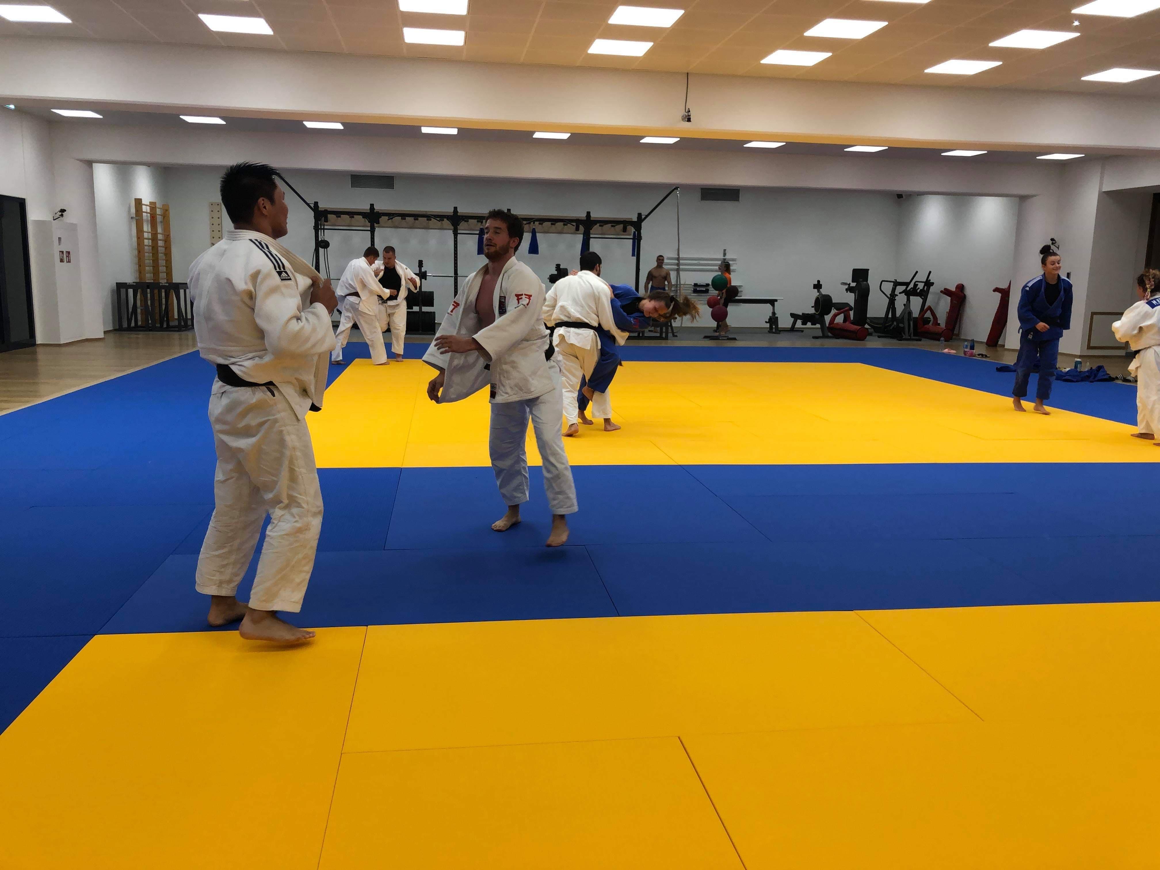 Interreg Judo Training Luxembourg - 03.07.2019
