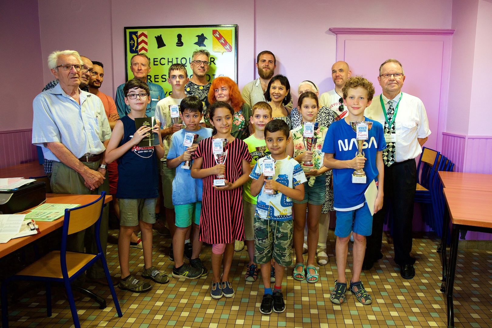 Chess results - 18th Rapid'Echecs Pay Haut Tressange - 6th July 2019