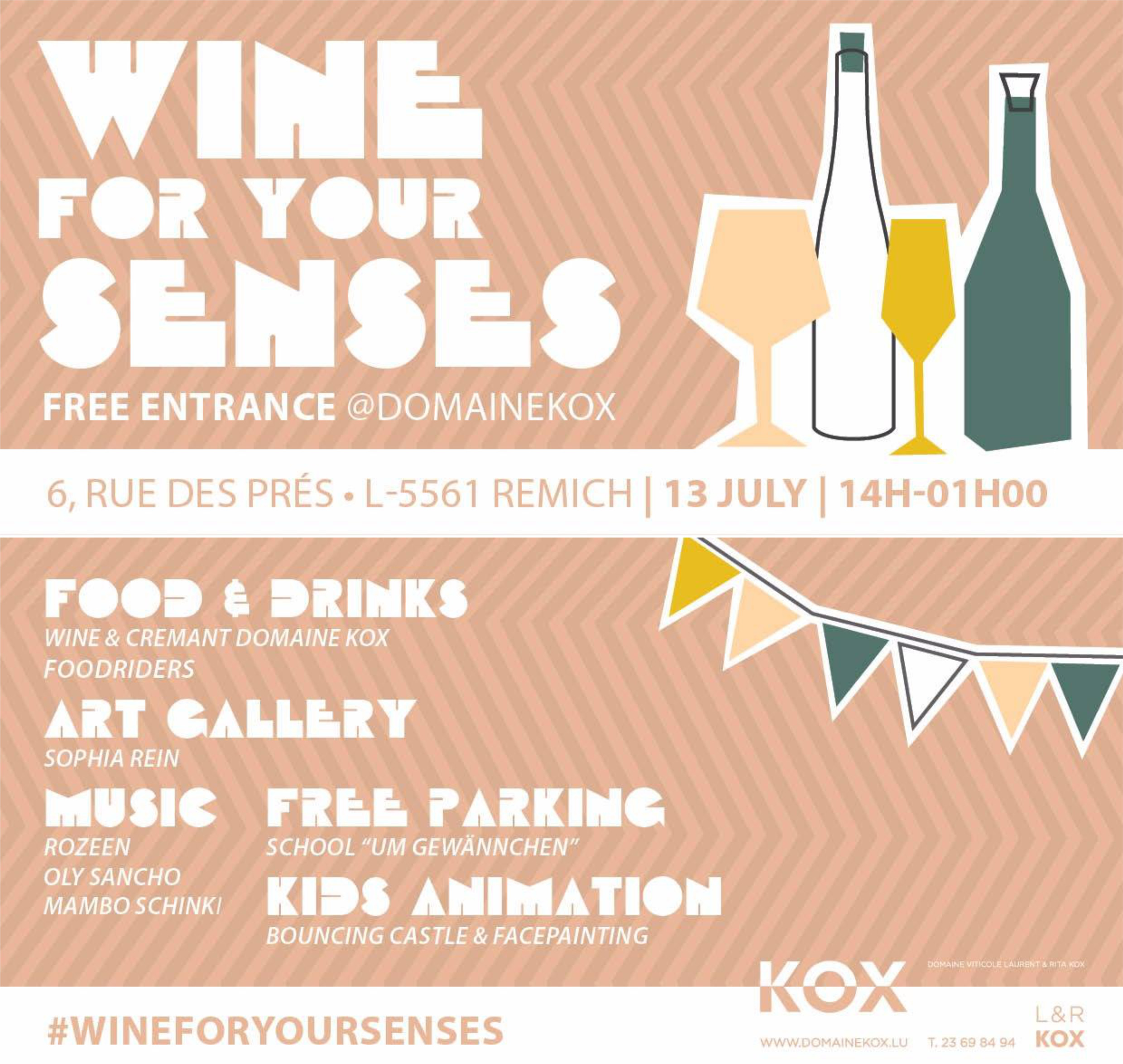 13.07.2019 WINE FOR YOUR SENSES