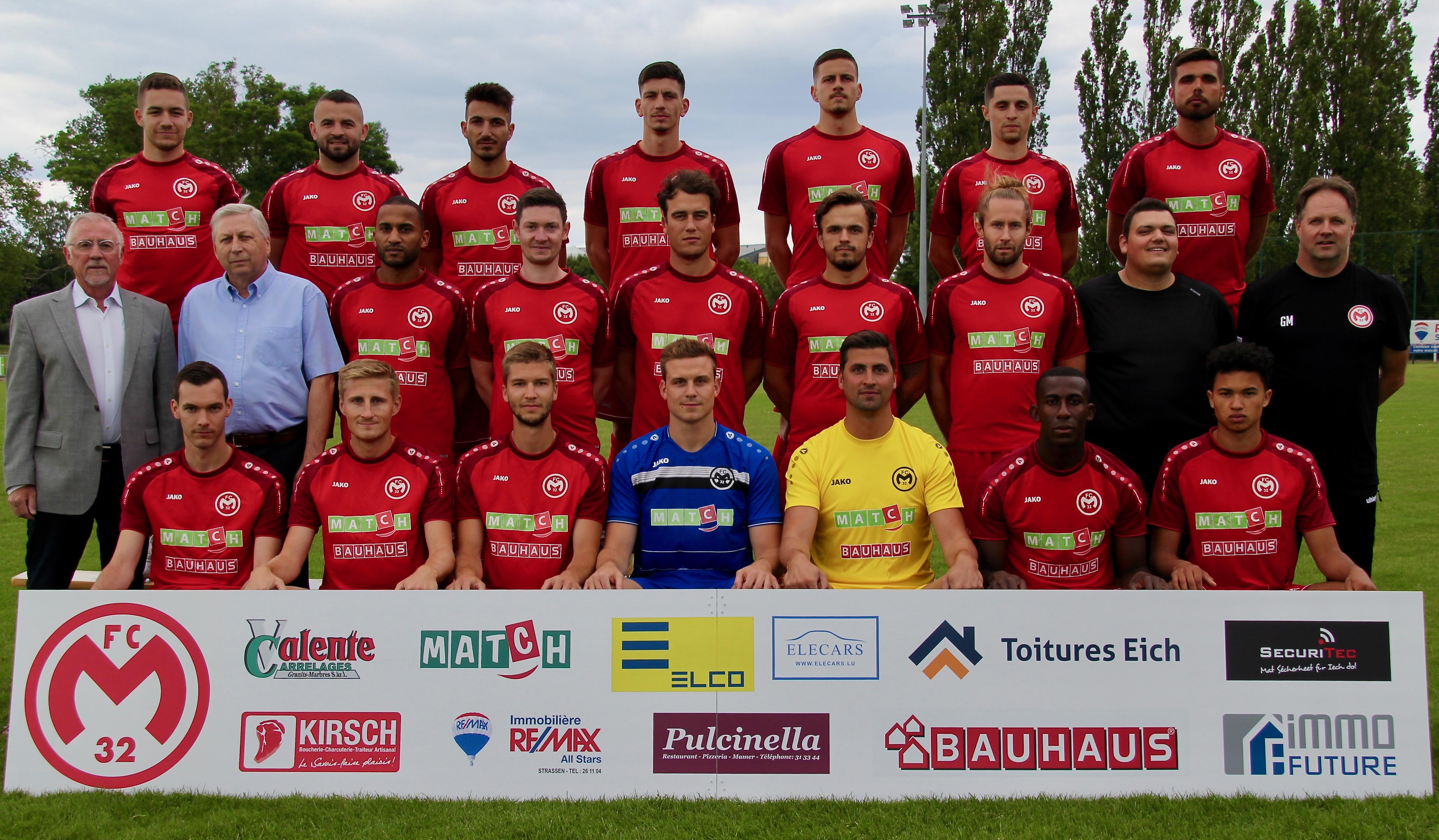 FC Mamer 32 – Seniors 1 – Saison 2019/2020
