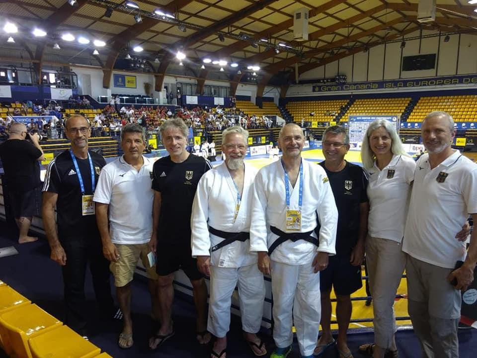 Interreg Judo Team - Kata European Judo Championships Gran Canaria 20-21.07.2019