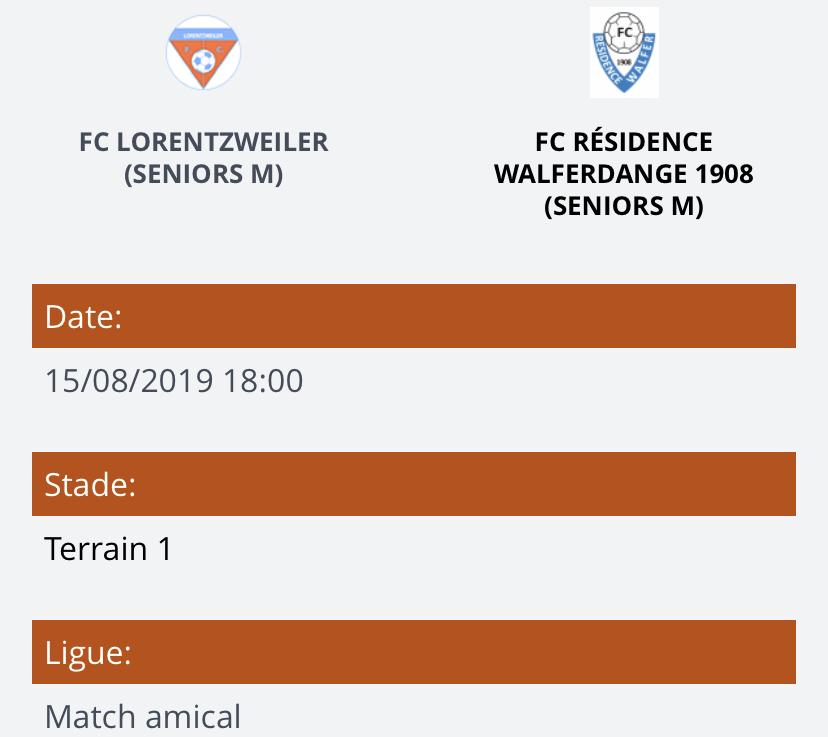 15/08/2019 Finale Coupe du Centre