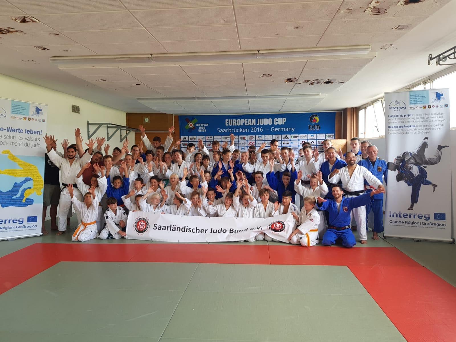 Interreg Judo Training - 09.-11.08.2019 Saarbrücken