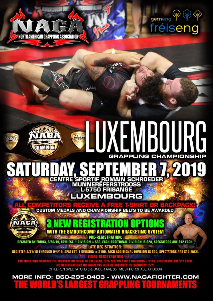 LUXEMBOURG GRAPPLING CHAMPIONSHIP 2019