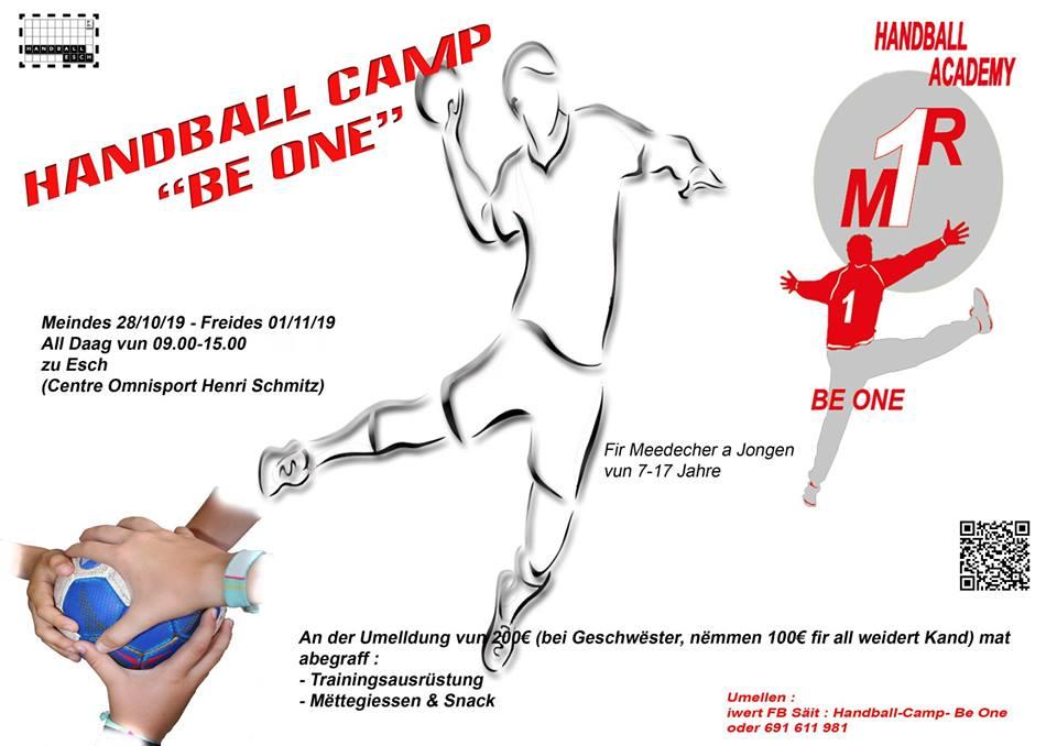 Handball Academy »BE ONE« (HB Esch)