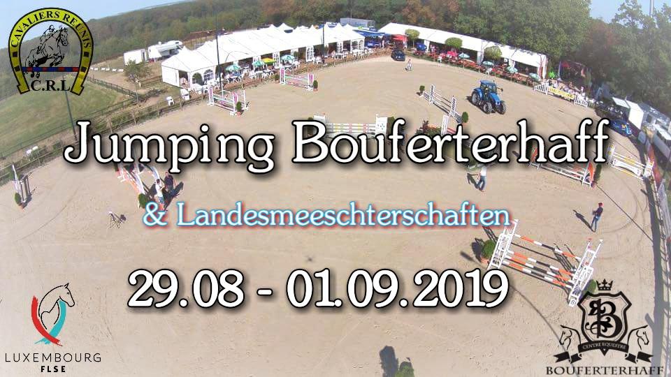 Zeiteinteilung Jumping Bouferterhaff 2019
