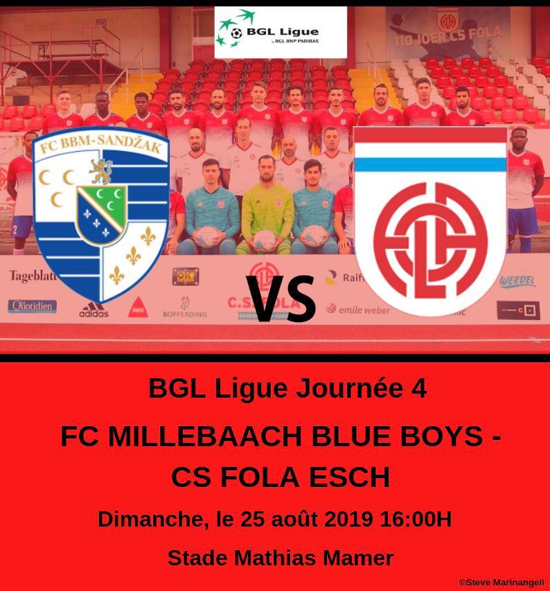 FC BLUE BOYS MUHLENBACH - CS FOLA ESCH: 3-1