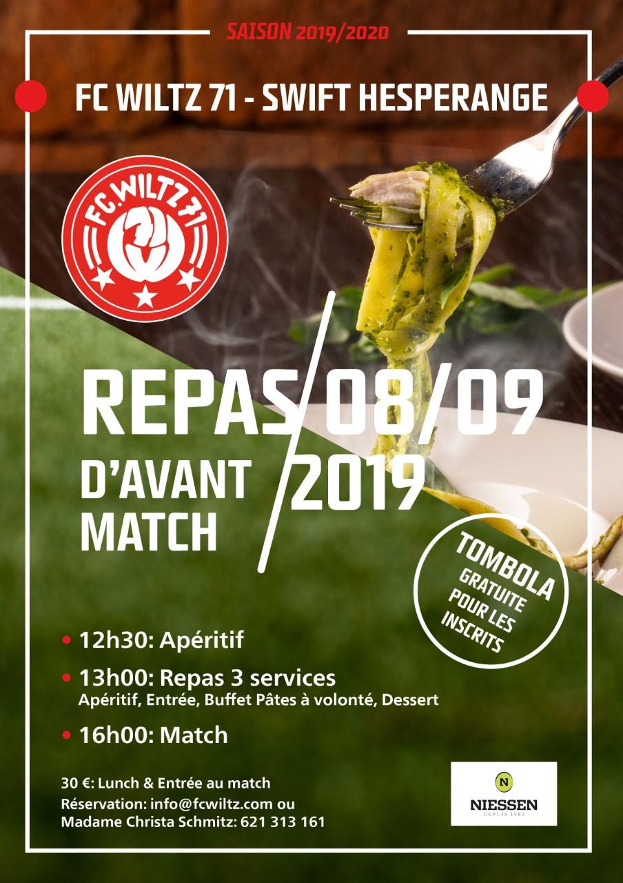 Topmatch FC Wiltz 71 - Swift Hesper - Reserveiert äer Plaz um Essen