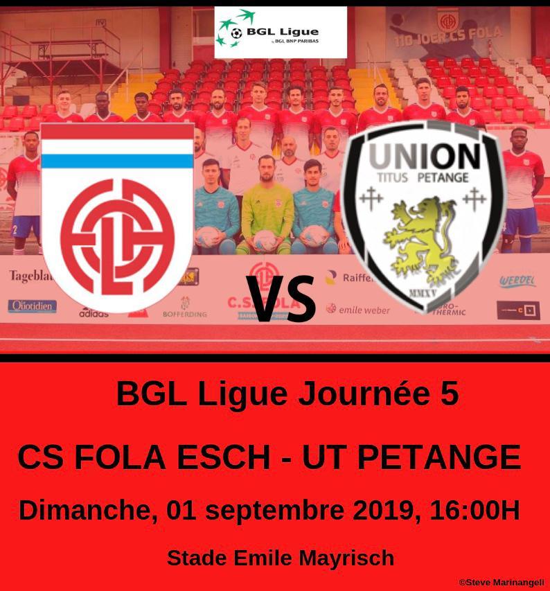 CS FOLA - Union Titus Pétange