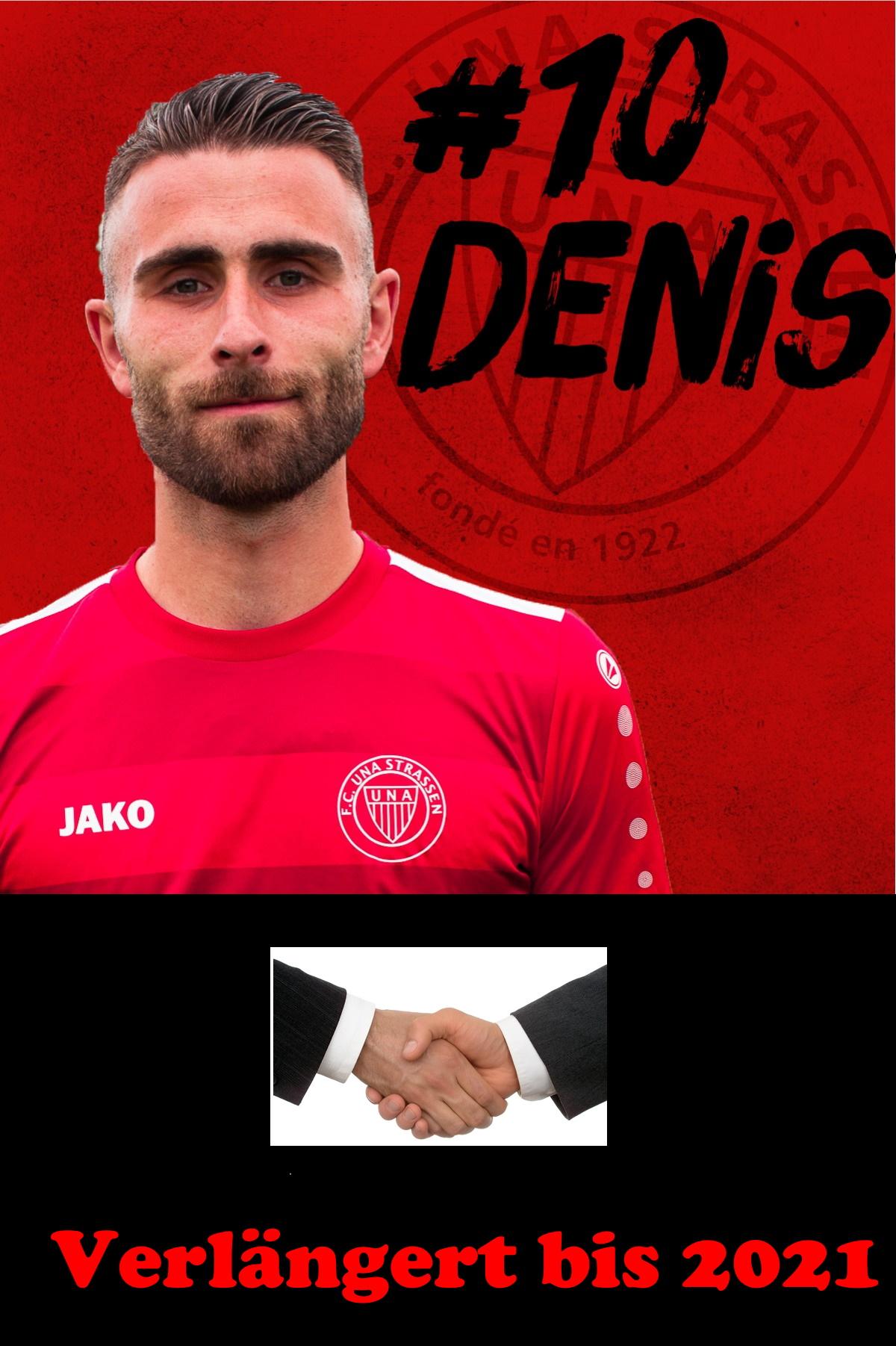 Eise Kapitän, Denis Agovic, huet beim FC UNA bis 2021 verlängert