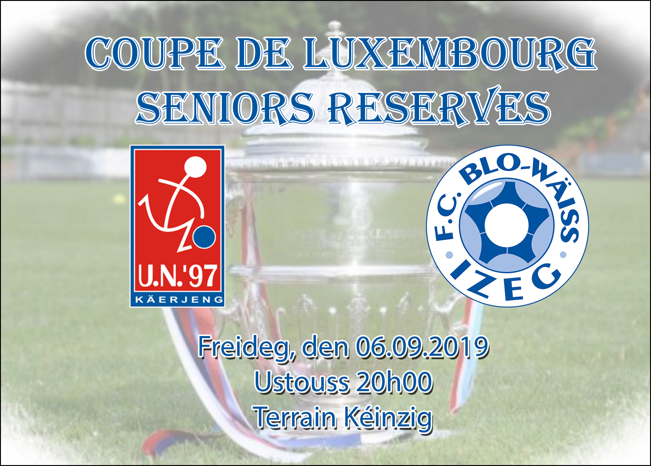 Coupe de Luxembourg - Seniors Reserven