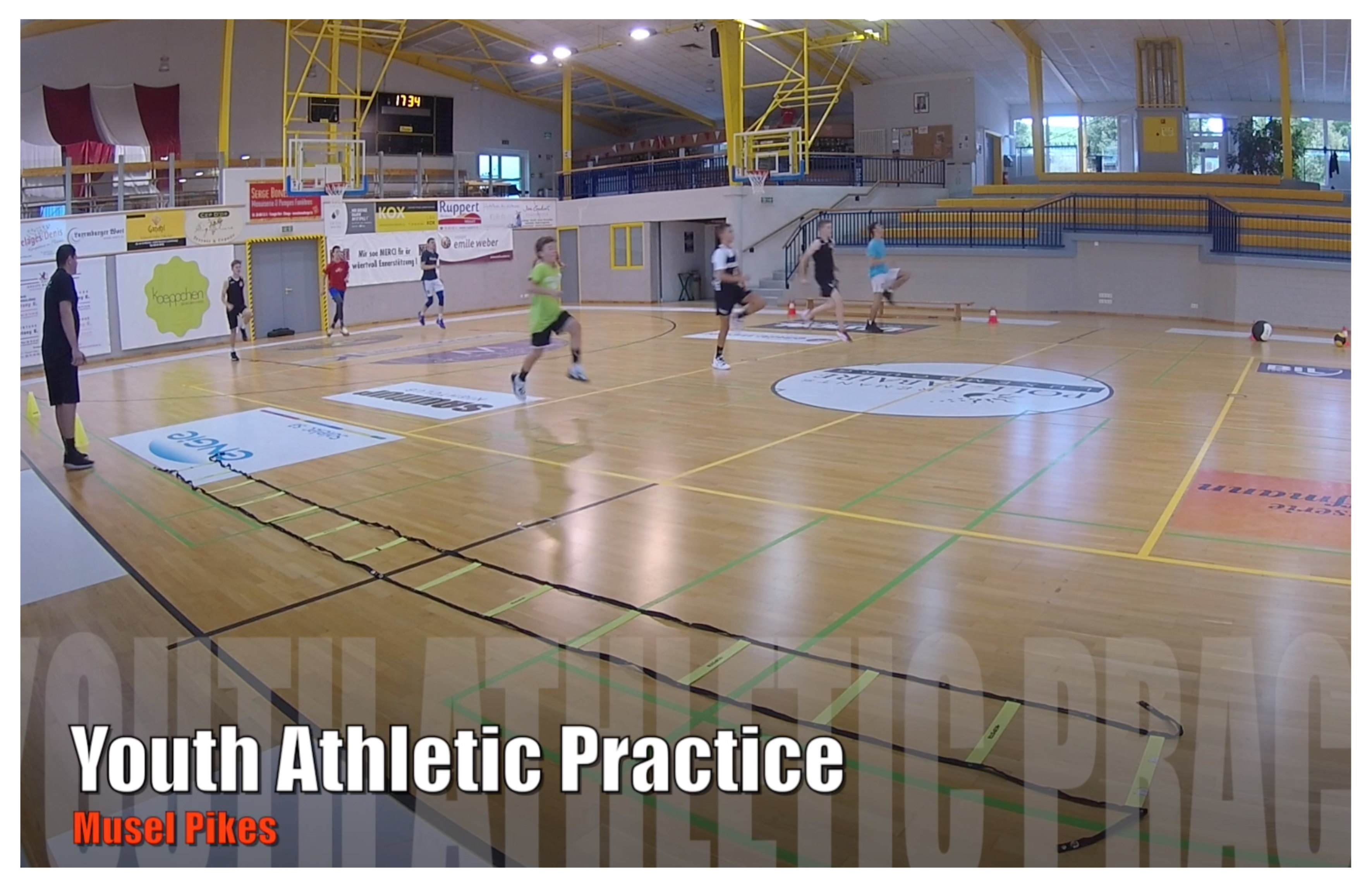 YOUTH ATHLETIC PRACTICE video by Majdi ANAN